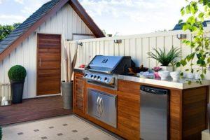 ideas para cocinas de exterior