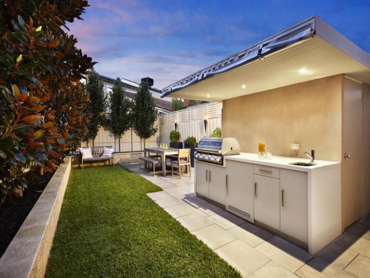 Crea una zona de cocina de exterior en tu casa - Crea tu cocina ...